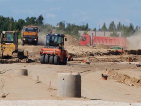 An industrial park be built in Vilnius