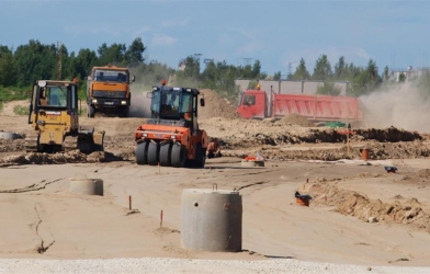 An industrial park be built in Vilnius