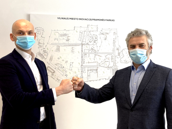 """Imunodiagnostika"", a company developing the first Lithuanian Covid-19 antibody test, will establish in Vilnius City Innovation Industrial Park"