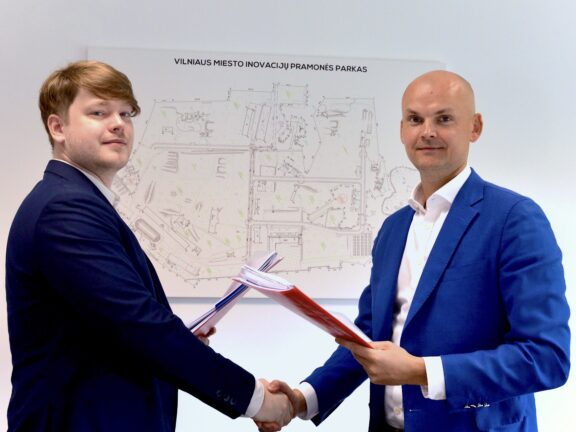 """Gensinta"", a start-up operating in the field of synthetic biology, will establish in Vilnius City Innovation Industrial Park"